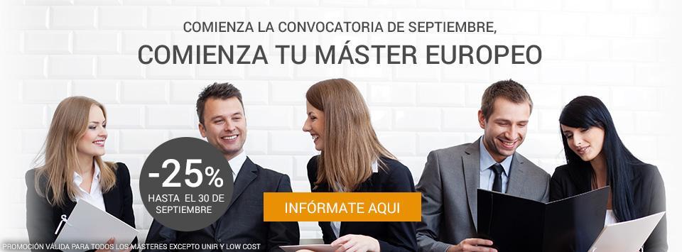 promo master septiembre