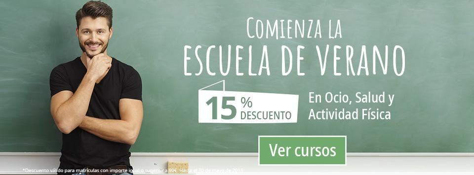 Beca 15% en cursos de Ocio y Tiempo Libre | FPDP